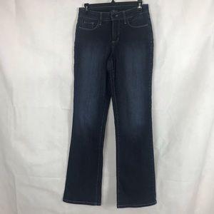 NYDJ Jeans Size 4 Bootcut Dark Wash
